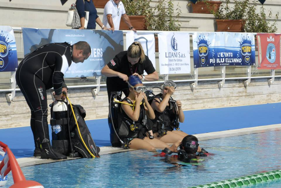 Scuba Show 2014 - Immersioni in piscina