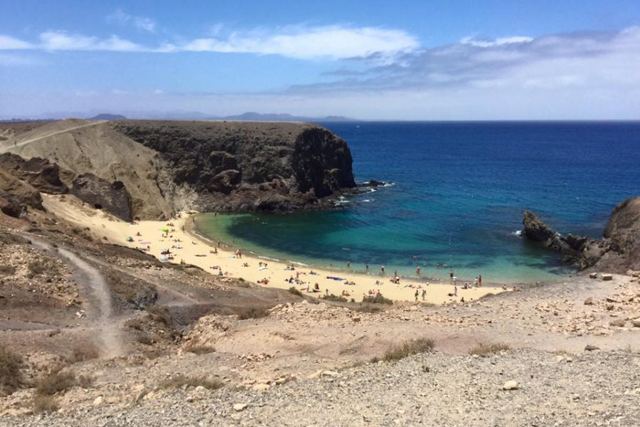 Playa Papagayo diving alle Canarie